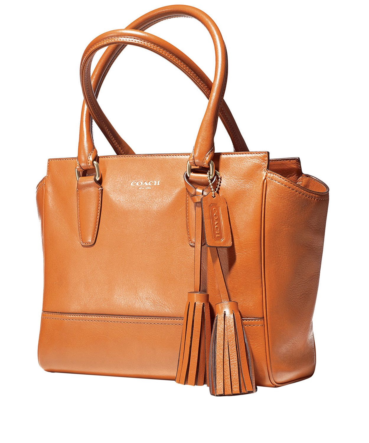 ... Tan Legacy Leather Tote Bag, Coach. Shop the latest bags from the Coach  collection ... 899a7f6dd9