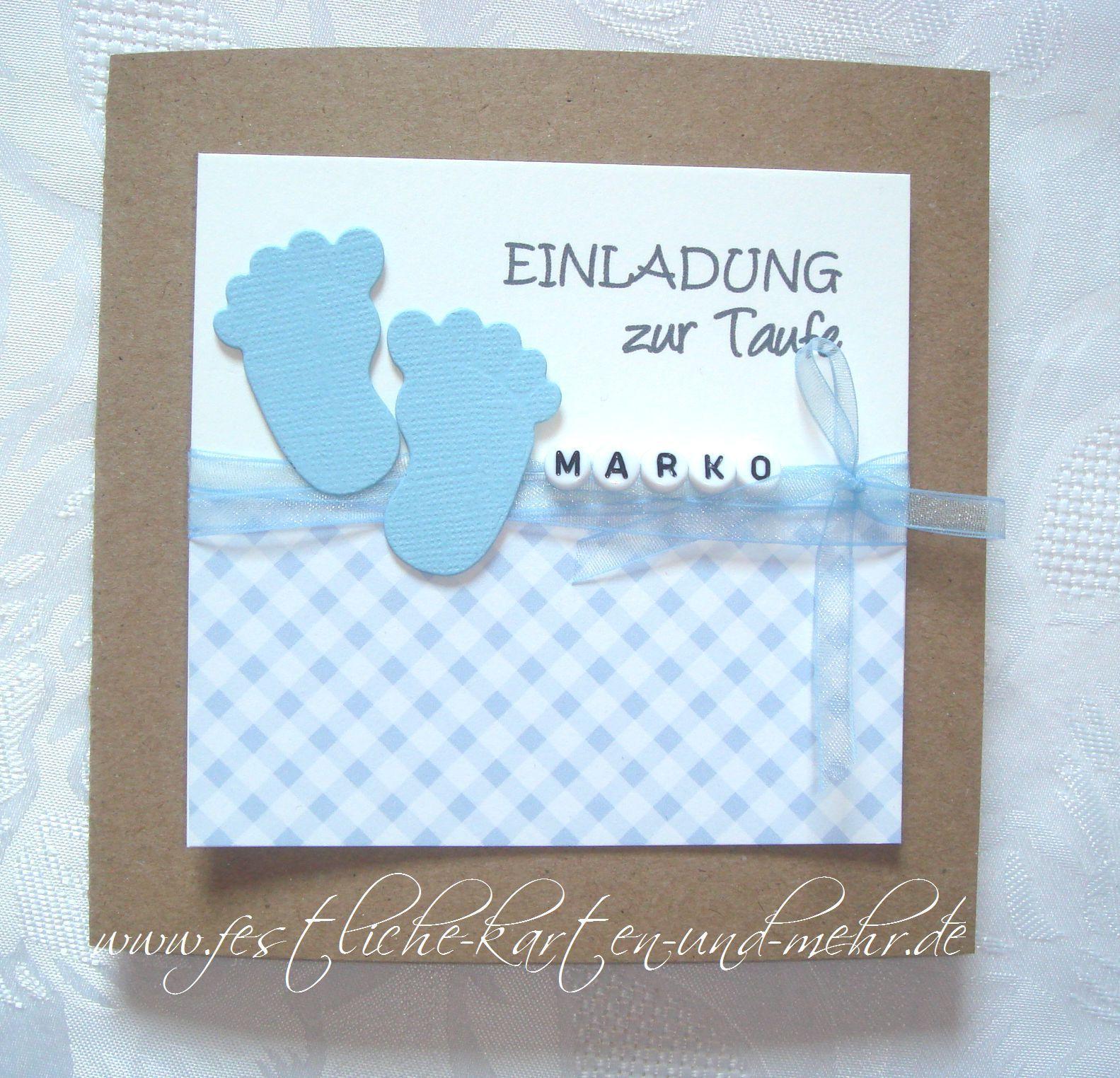 Einladungskarten Zur Taufe Text Taufe Einladungskarten