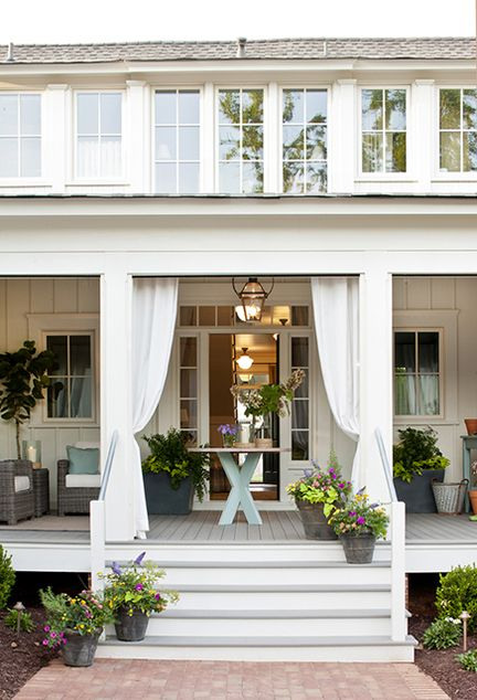 Porches Wraparound Covered Porch Wraparound Covered Porch With