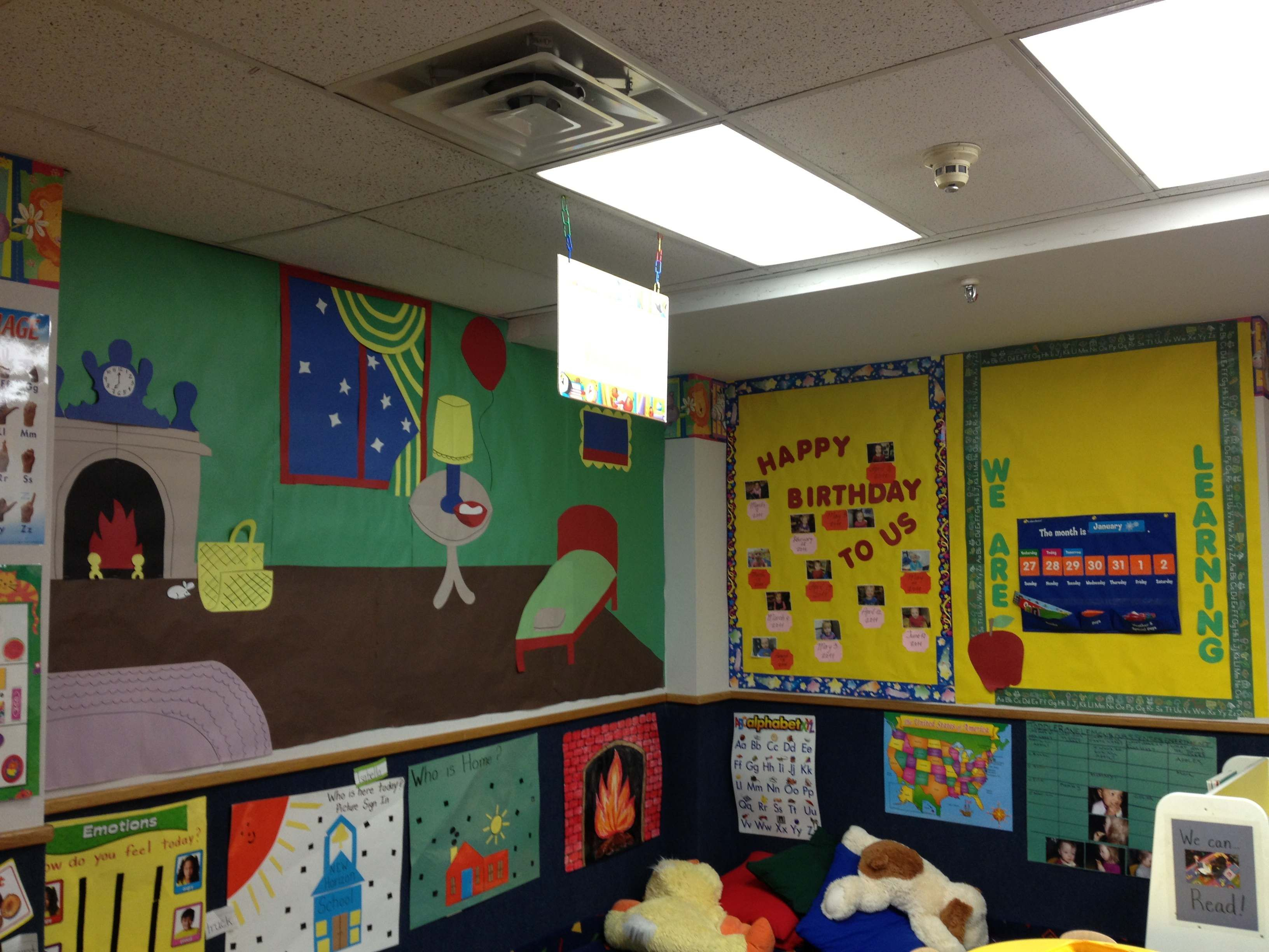 Toddler classroom ideas. Theme of the month: Bedtime Stories. Great ...