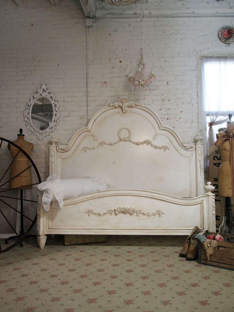 Shabby Chic Furniture Bed | I love | Pinterest | Dormitorio shabby ...