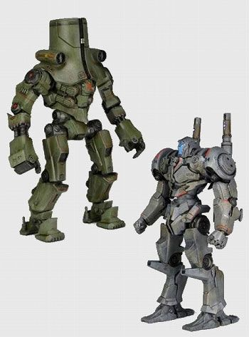 AmiAmi [Character & Hobby Shop] | Pacific Rim 7 Inch DX Action Figure Series 3 Jaeger Set of 2 TypeS