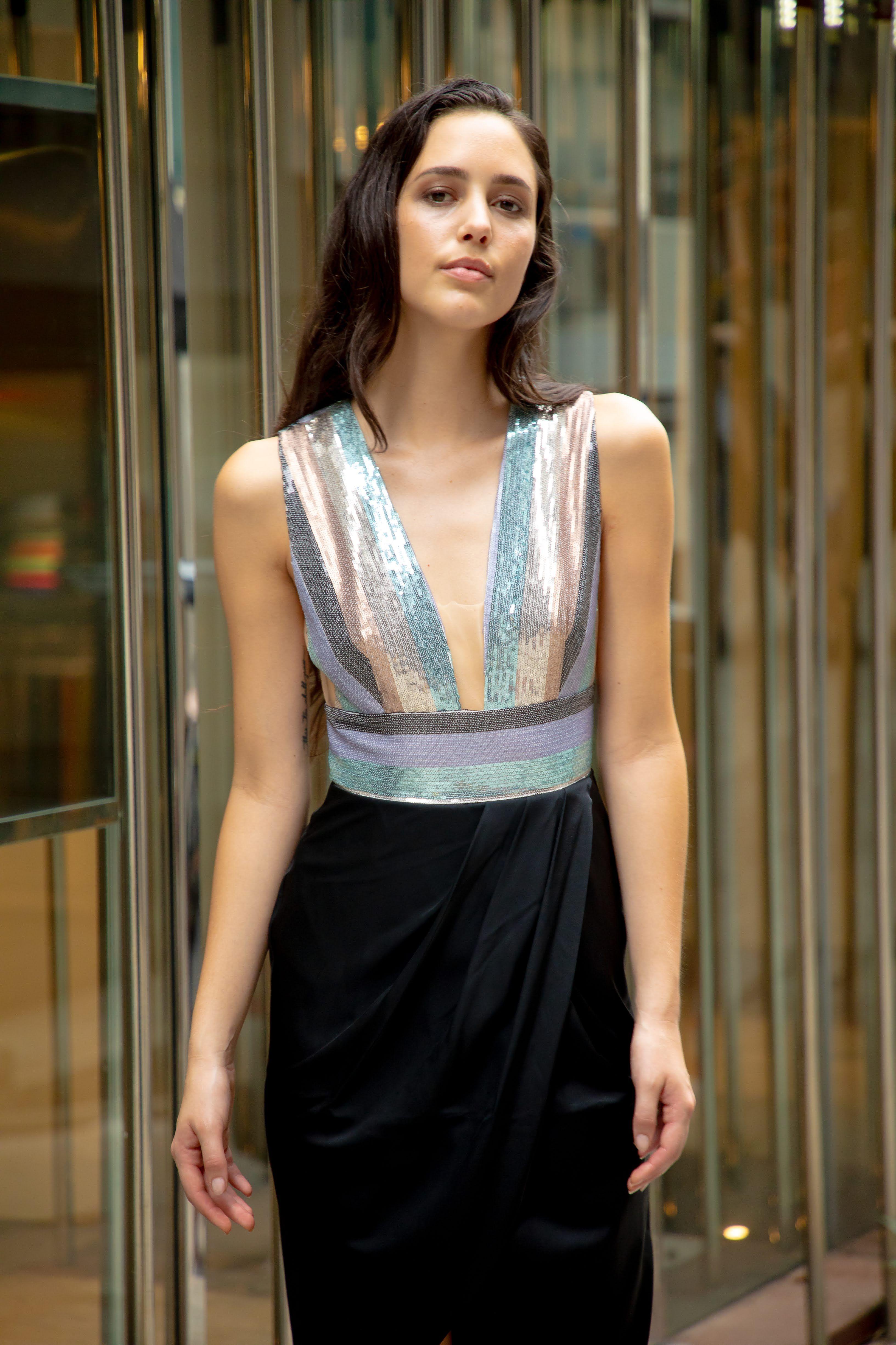 d67aa217c2 Sequin Top Cocktail Dress
