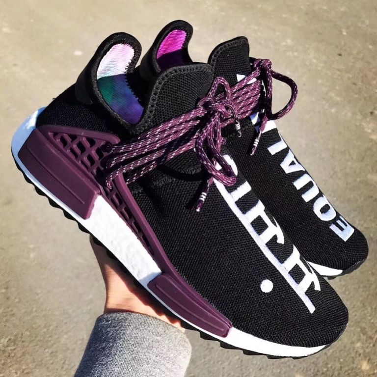 Pharrell Williams adidas Originals Hu NMD Trail Holi Equality Release Date  Info Drops March 2 2018