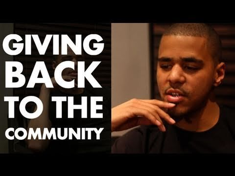 J Cole talks Giving Back To The Community | SoulCulture.TV x Orange Rock...
