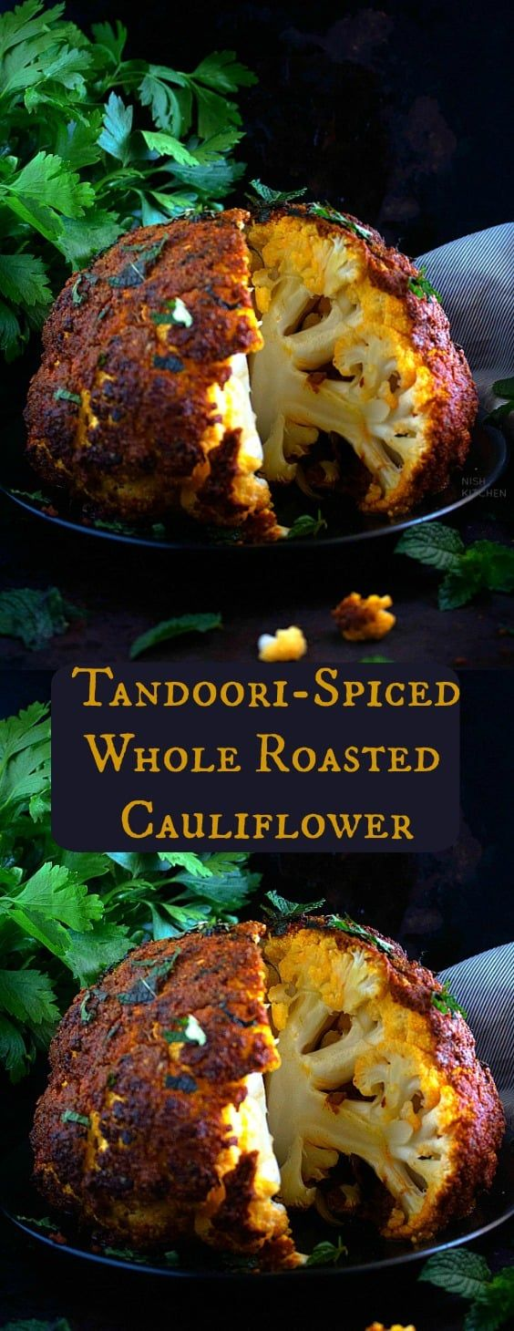 Photo of Tandoori Cauliflower | Tandoori Gobi | Nish Kitchen