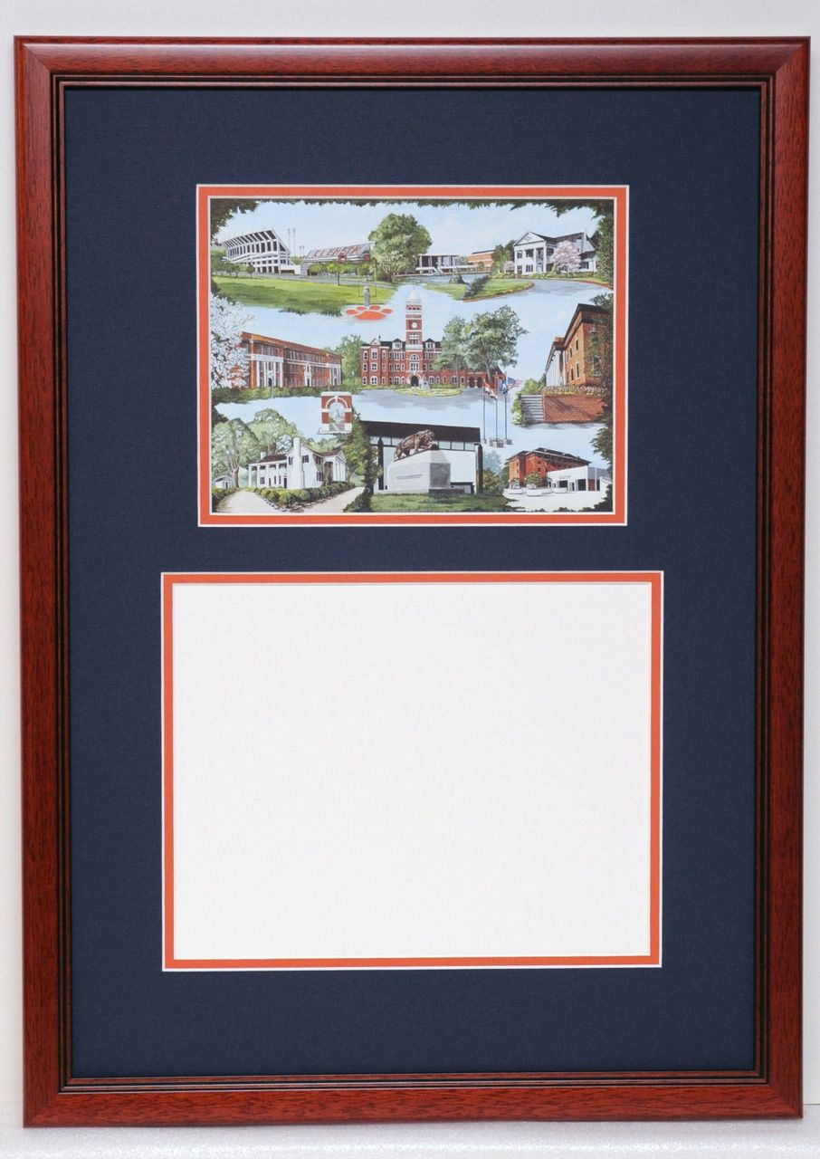Clemson University (Diploma Frame) by Gail Dedmon | Tigers Stuff ...