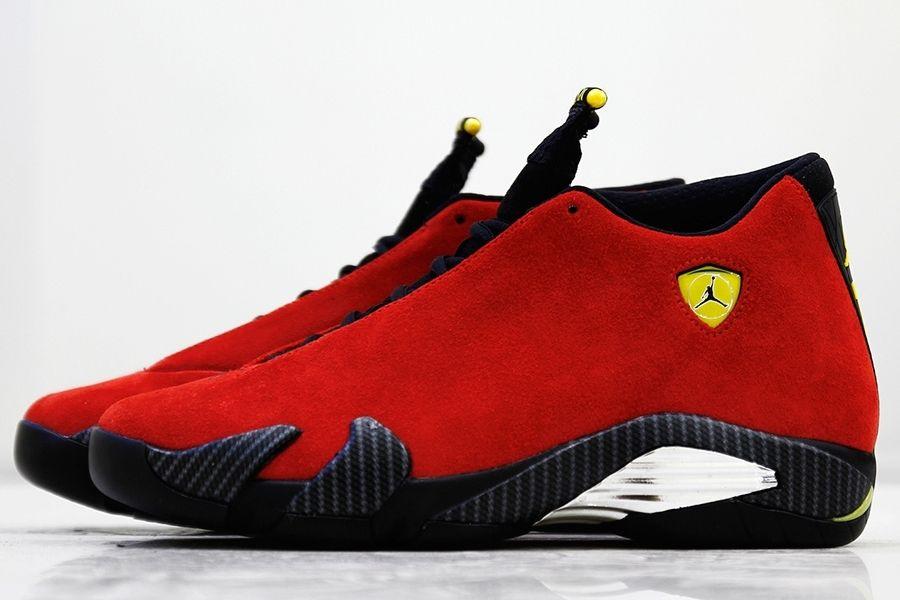 Bringing The Ferrari To Life With The Air Jordan 14 - SneakerNews.com