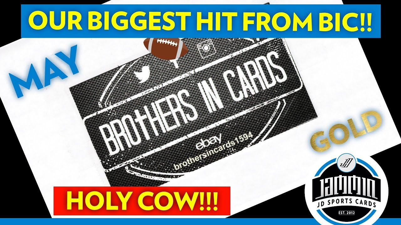 Brothers in Cards Football MAY GOLD Pack Plus Program