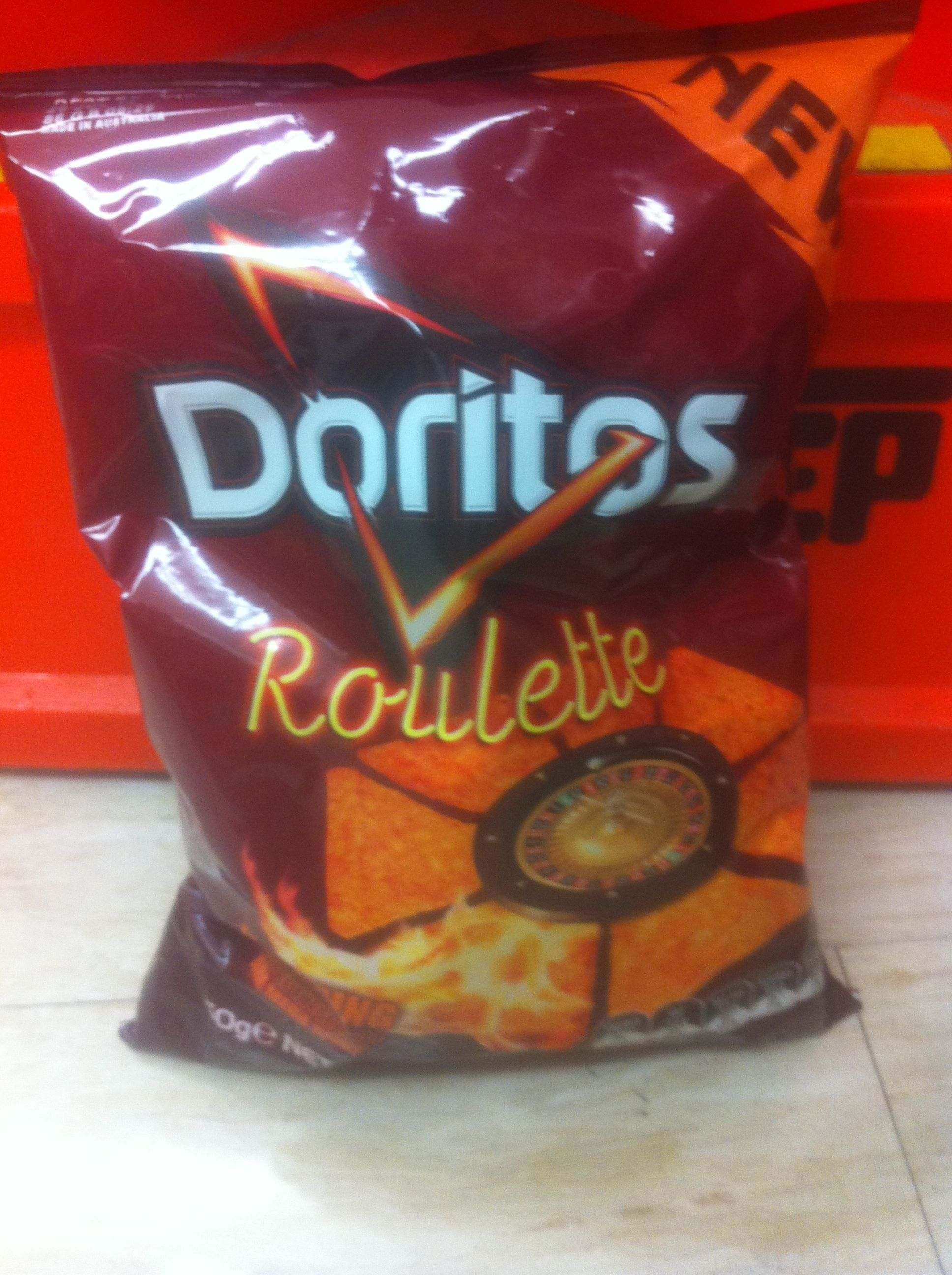 What makes doritos roulette chips so hot icm poker