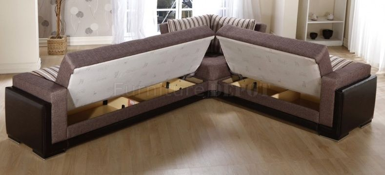 Sectional Sofas With Hide A Bed