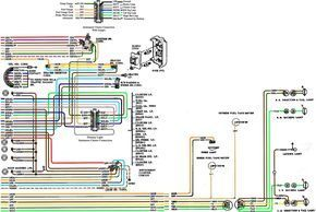 67-72 Chevy Wiring Diagram (With images) | Chevy trucks ...