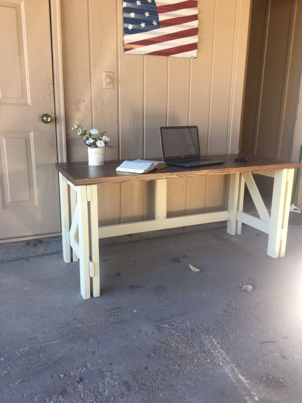 Brilliant Wooden Desk For Sale In Colorado Springs Co Things I Like Download Free Architecture Designs Crovemadebymaigaardcom