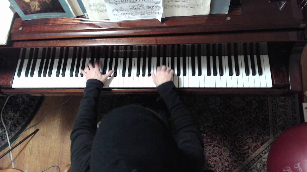 HD) Piano Instruction: J S  Bach