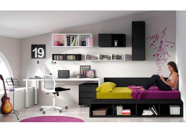Dormitorio juvenil 528 432012 teenage room for Muebles pepe jesus dormitorios juveniles