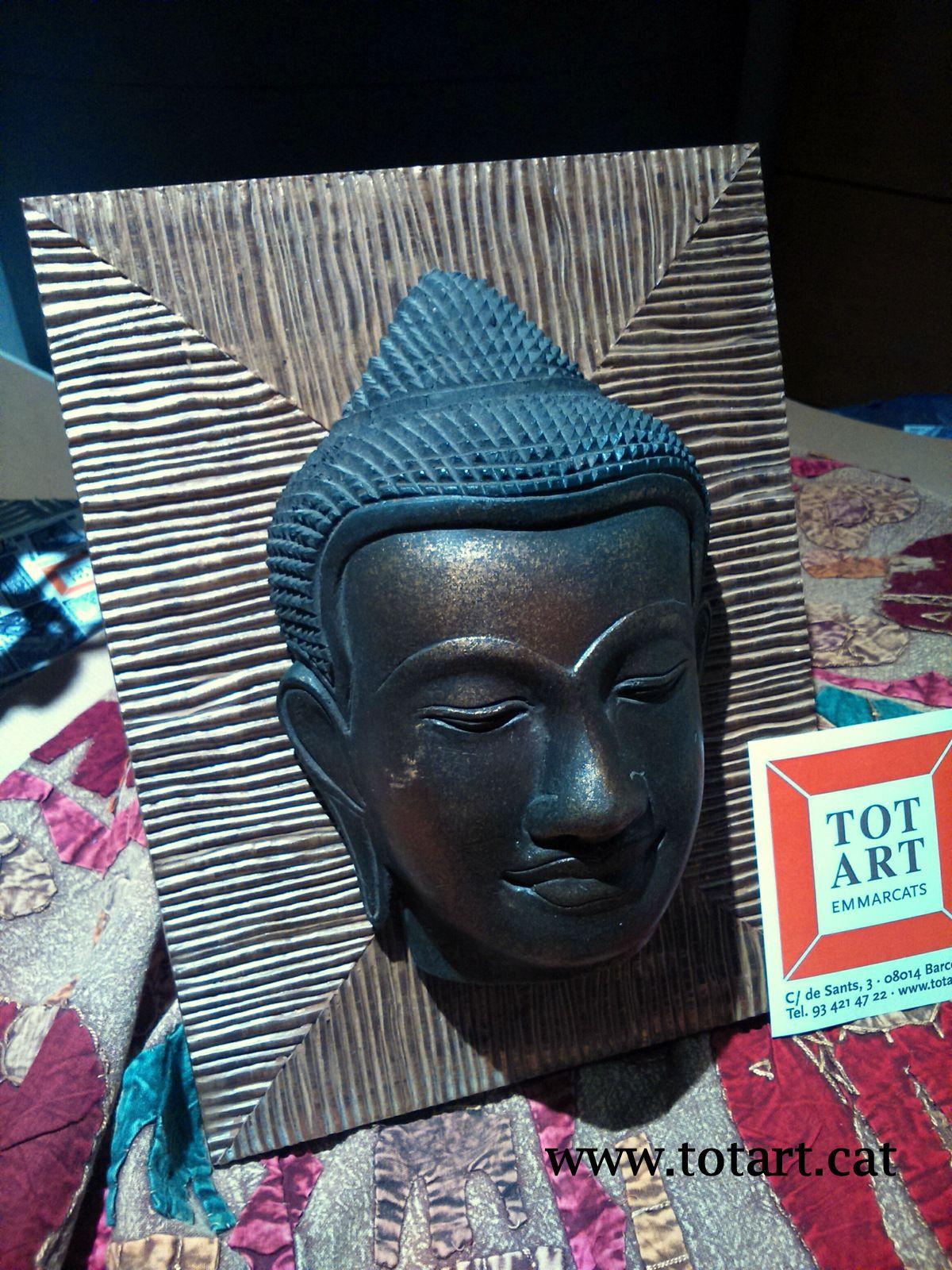 Marco para mascara Buda..Enmarcaciones a medida para objetos Tienda ...
