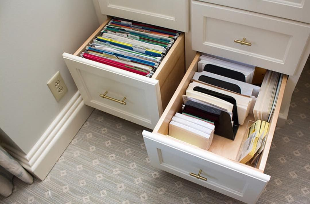 Paper Sorters In A Deep Desk Drawer Work Great For Envelopes And