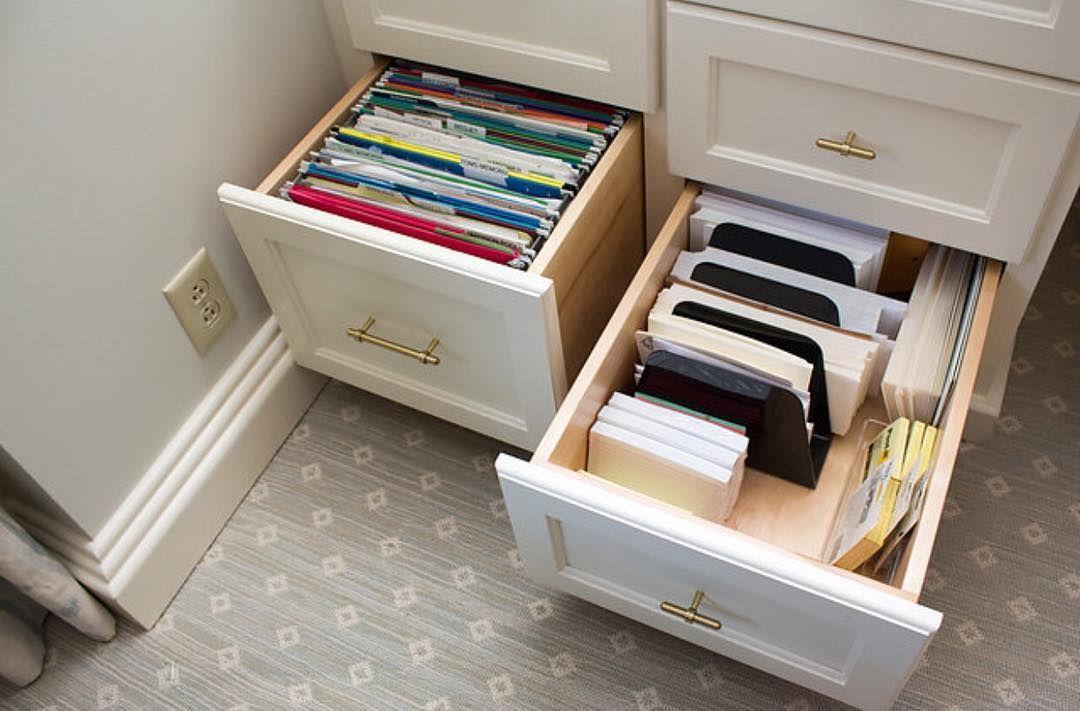Paper Sorters In A Deep Desk Drawer Work Great For Envelopes And Stationary Desk Drawer Organisation Office Drawer Organization Deep Drawer Organization