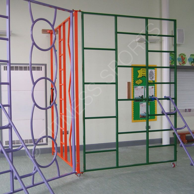 Suitable for key stages 1 & 2 The Rainbow PE climbing frame is of ...