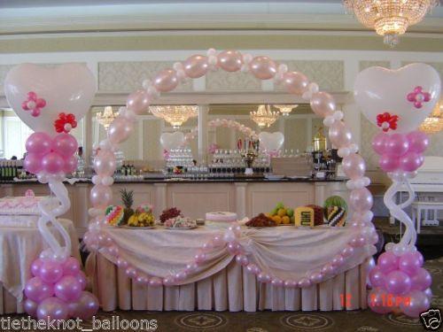 LINKING LINK O LOON BALLOON ARCH WEDDING PARTY eBay RECEPTION