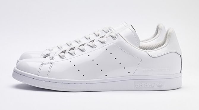 new concept d36e5 1f50d White Mountaineering s Next adidas Stan Smith Collab