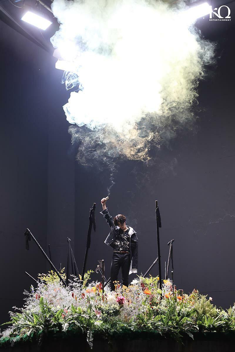 Ateez Wonderland MV Behind the Scene Photo (With images