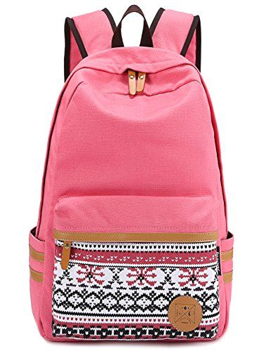 Leaper Causal Style Lightweight Canvas Laptop Bag/Cute backpacks/ Shoulder Bag/ School Backpack/ Travel Bag $11.90 (save $25.09)