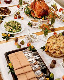 Set Up A Buffet Thanksgiving Buffet Table Thanksgiving Dinner Table Thanksgiving Dinner