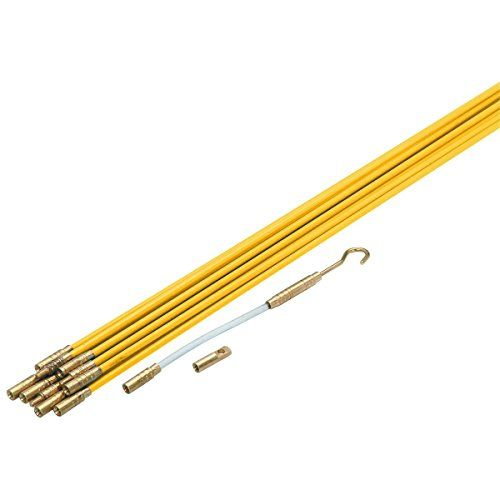33 Electric Fiberglass Wire Pull Rods Fish Tape Cen Tech Http Www Amazon Com Dp B005lw4cfg Ref Cm Sw R Pi Dp Iqsuvb With Images Diy Electrical Electricity Running Wires