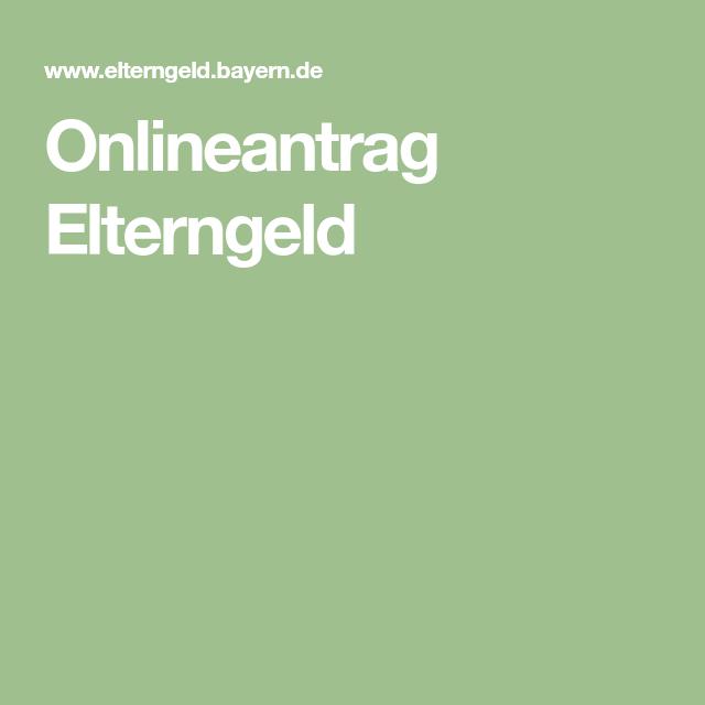 www elterngeld bayern de