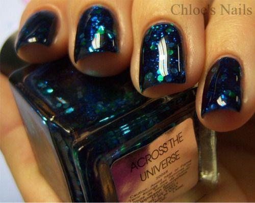 "Deborah Lippman ""Across the Universe"". So in love with this polish."