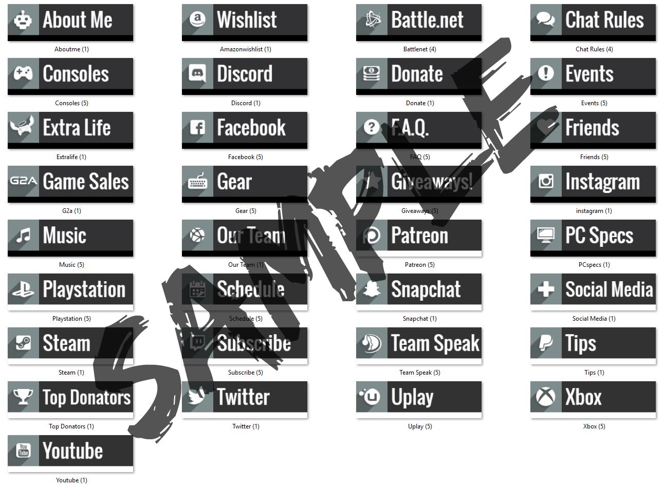 streamdesign (streamdesigner) on Pinterest
