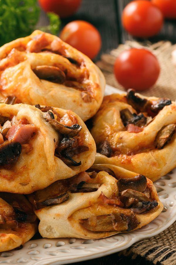 Abnehmen: Diese Low Carb Pizzarollen sind der perfekte Snack – hier geht's zum Rezept