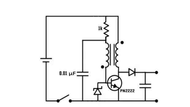 Joule Thief Low Voltage Battery Charger Joule Thief