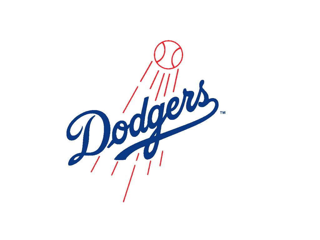 Celebrate Baseball Season And All The Games By Bringing Out A Fabulous Los Angeles Dodgers Dog Treat CookieOfficially Licensed Team Logo On Round Trea