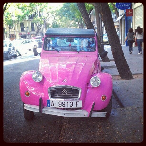 Adorable pink car 8531 Santa Monica Blvd West Hollywood