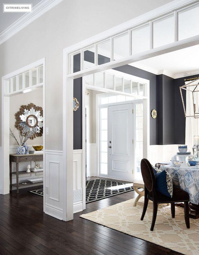 Transomdiningroomentrywaystarburstsunburstmirrortransom Glamorous Dining Room In Entryway Inspiration