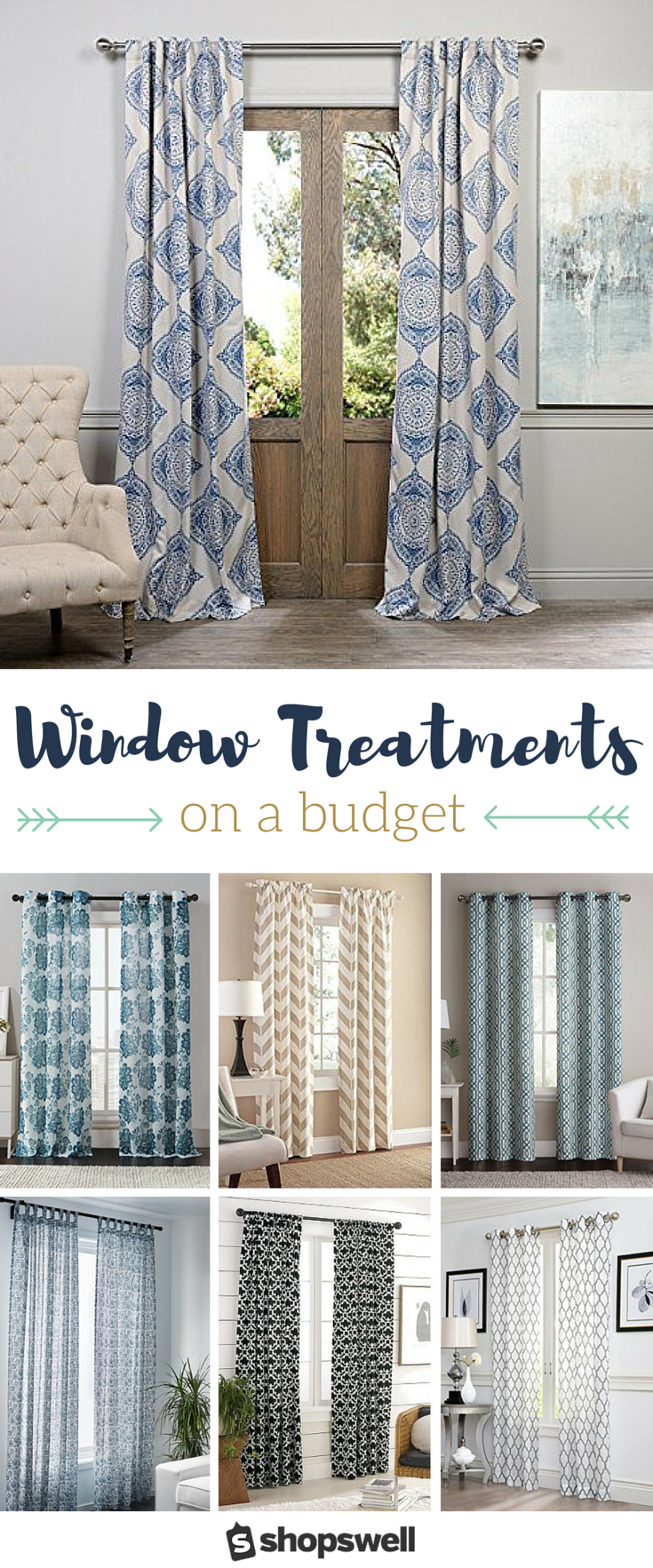 curtains on a budget 16 gorgeous window panels 35 80861