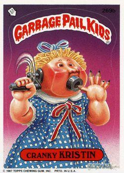 Geepeekay Com Original Series 7 Gallery Garbage Pail Kids Garbage Pail Kids Cards Pail
