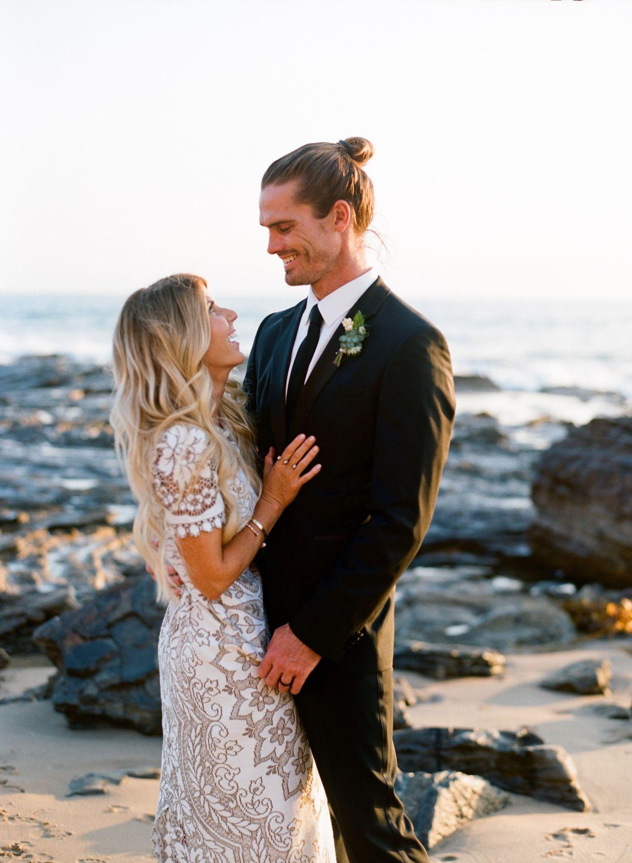 Modest wedding dress lunchpails u lipstick beach wedding newport