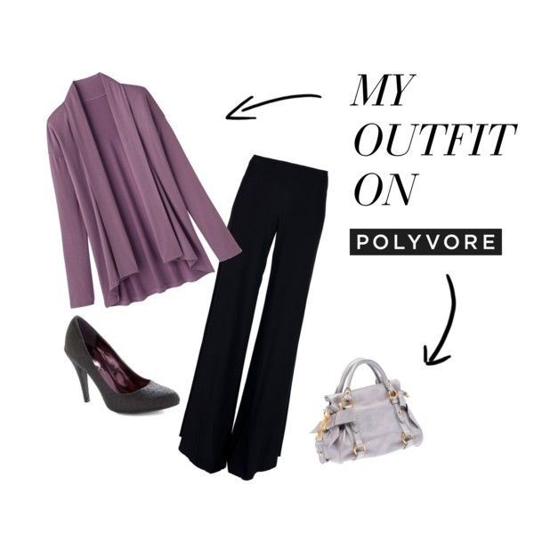 At work, created by karen-willis-carr on Polyvore