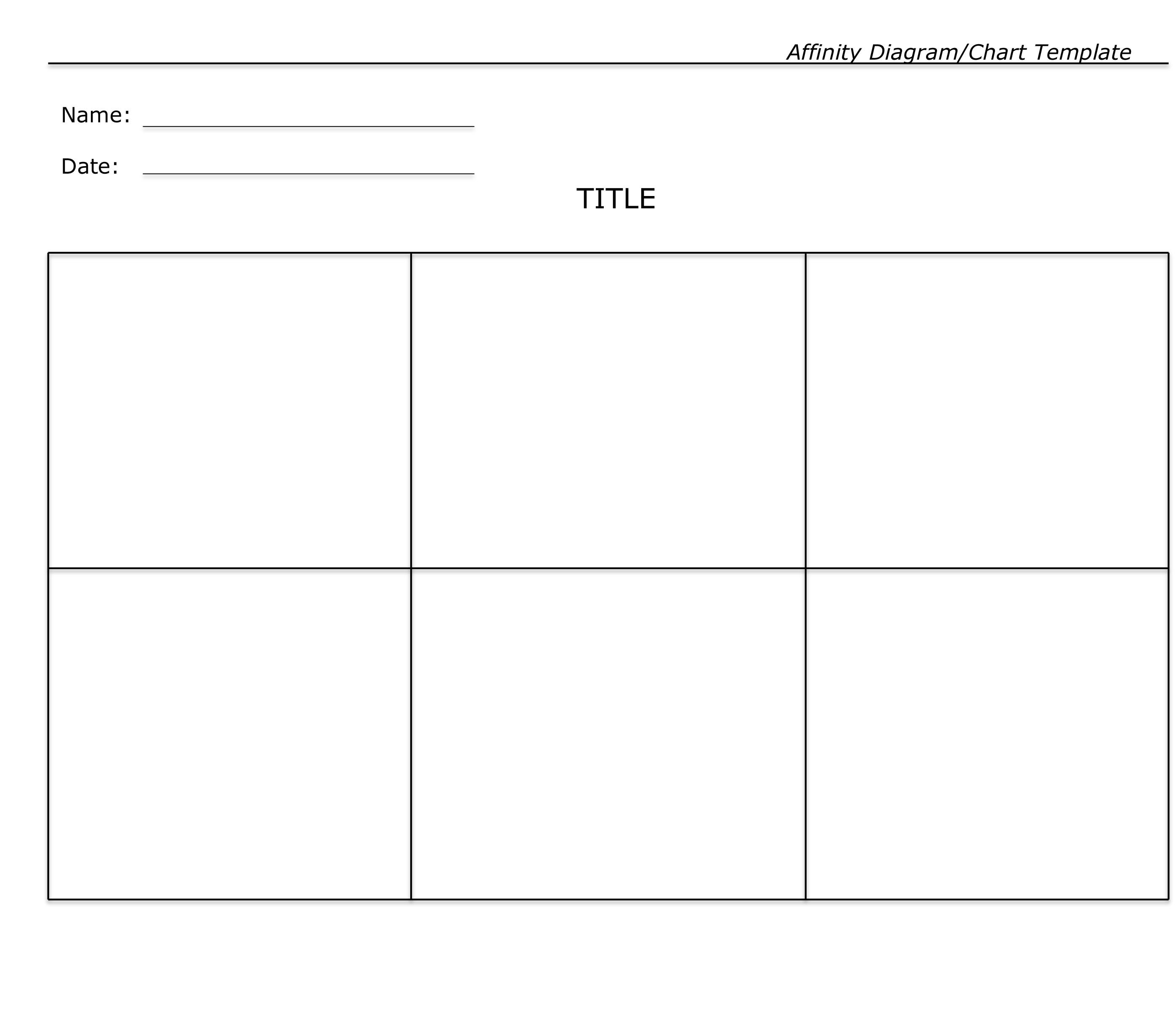 Free Printable T Chart Microsoft Word  Affinity Chart Template.docx Read The Great .