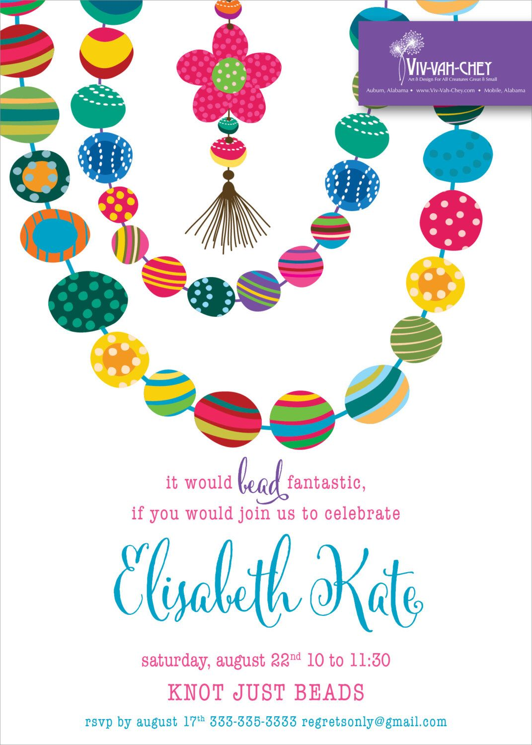 party invitations - jewelry party | design | pinterest | birthday, Party invitations