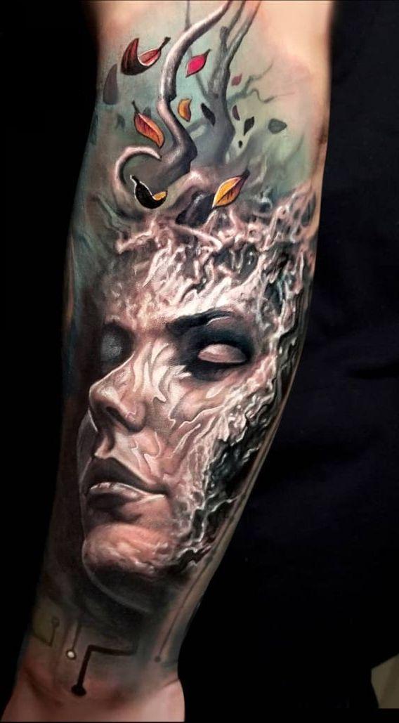Arlo Dicristina Tattoo Artist: Jaw-Dropping Face Morph Tattoos By Arlo DiCristina