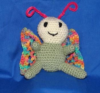 Looking for your next project? You're going to love Bella Butterfly Amigurumi by designer Stormyz Crochet.