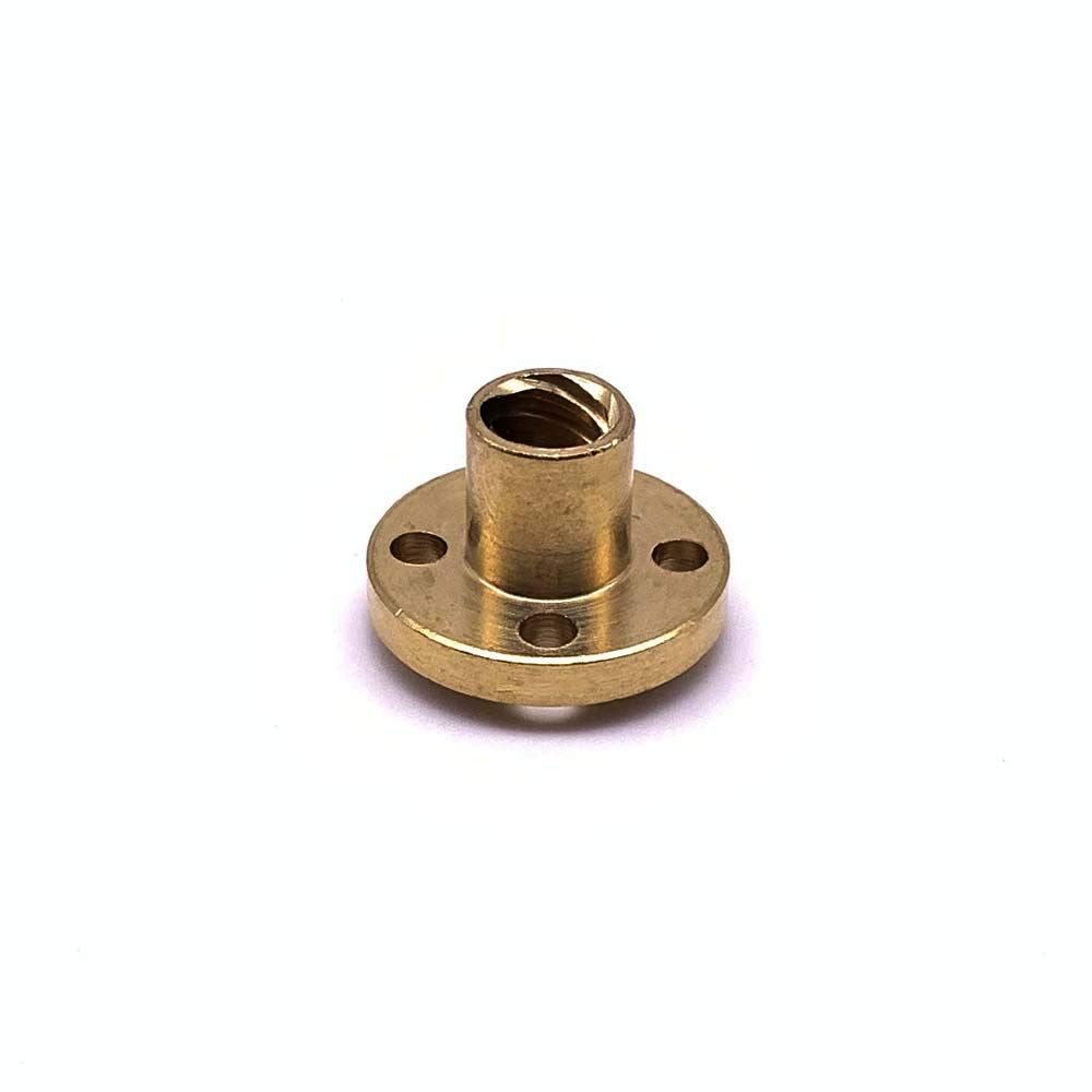 300mm 8mm T8 Lead Screw Set Lead Screw Pillow Bearing Block for 3D Printer by LINGLONG Coupler Copper Nut