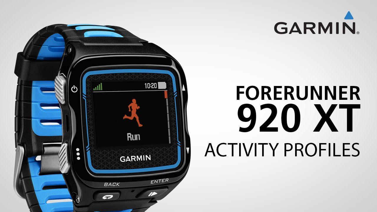 Garmin Forerunner 920XT Creating a Triathlon Profile