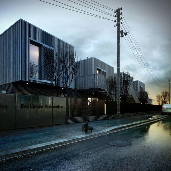 Galería de Residencia para Estudiantes Fontaudin / Nadau Lavergne Architects - 1