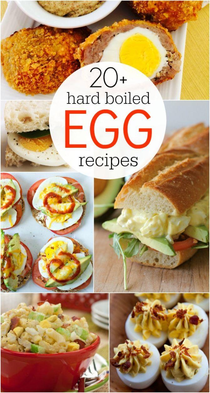 20+ hard boiled egg recipes