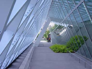 Seattle Public Library, Main Branch by OMA in Seattle, Washington